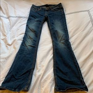 Vigoss flare jeans size 25